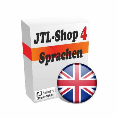 """Sprachdatei 4.x """"Englisch"""" für JTL-Shop 4"""