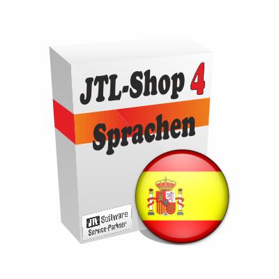 """Sprachdatei 4.x """"Spanisch"""" für JTL-Shop 4"""