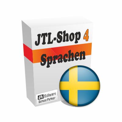 """Sprachdatei 4.x """"Schwedisch"""" für JTL-Shop 4"""