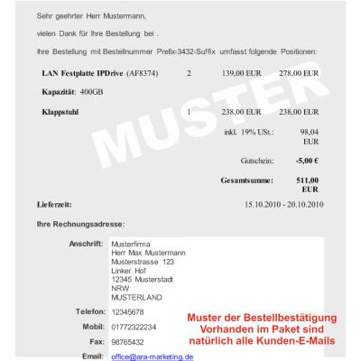 """E-Mail-Datei 4.x """"Deutsch"""" für JTL-Shop"""