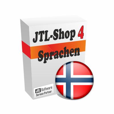 """Sprachdatei 4.x """"Norwegisch"""" für JTL-Shop 4"""