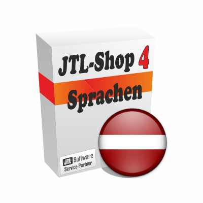"""Sprachdatei 4.x """"Lettisch"""" für JTL-Shop 4"""