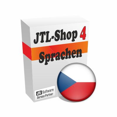 """Sprachdatei 4.x """"Tschechisch"""" für JTL-Shop 4"""