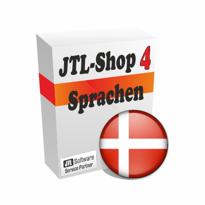"""Sprachdatei 4.x """"Dänisch"""" für JTL-Shop"""