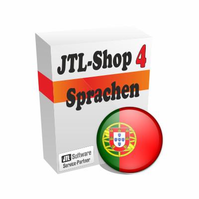 """Sprachdatei 4.x """"Portugiesisch"""" für JTL-Shop 4"""