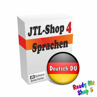 """Sprachdatei 4.x """"Deutsch-DU"""" für JTL-Shop 4 & 5"""
