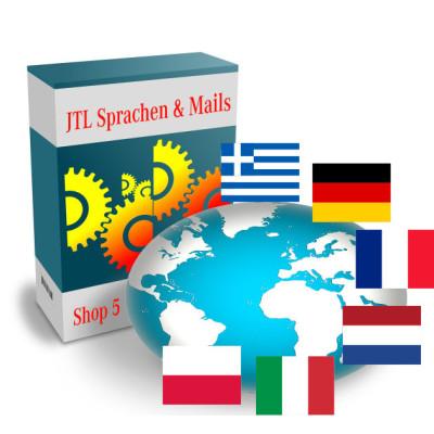 Sprachen Update Shop 4 auf Shop 5