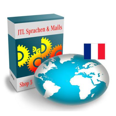 """Sprache """"Französisch"""" für JTL-Shop 5.x"""