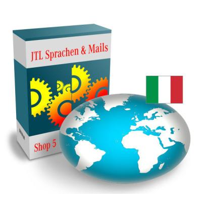 """Sprache """"Italienisch"""" für JTL-Shop 5.x"""