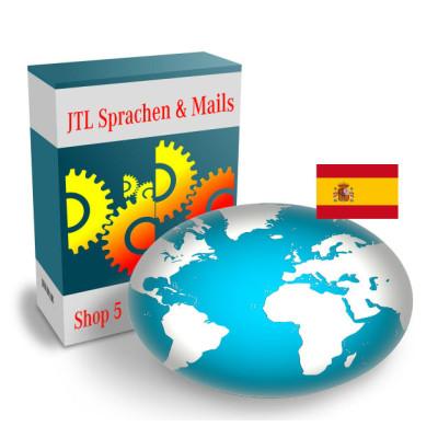 """Sprache """"Spanisch"""" für JTL-Shop 5.x"""