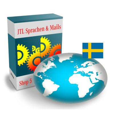 """Sprache """"Schwedisch"""" für JTL-Shop 5.x"""
