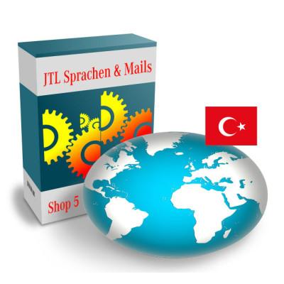 """Sprache """"Türkisch"""" für JTL-Shop 5.x"""