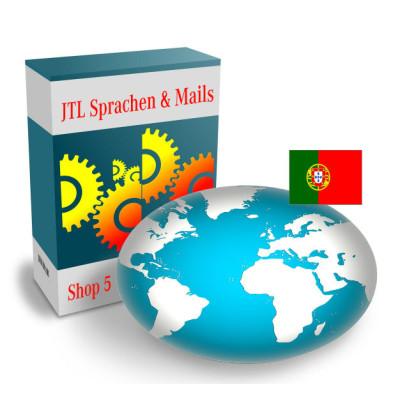 """Sprache """"Portugiesisch"""" für JTL-Shop 5.x"""