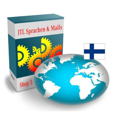 """Sprache """"Finnisch"""" für JTL-Shop 5.x"""