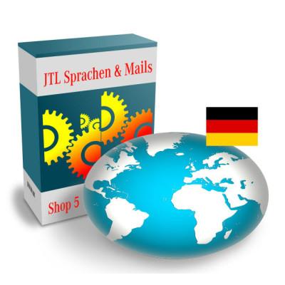 """Sprache """"Deutsch"""" für JTL-Shop 5.x"""