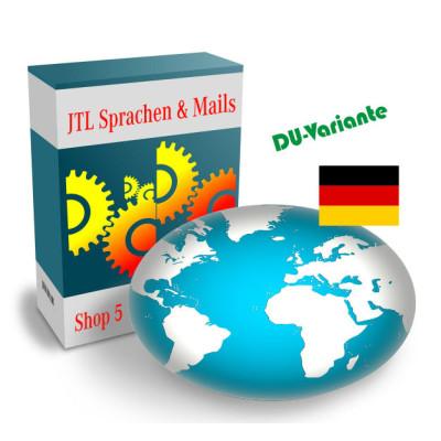 """Sprache """"Deutsch-DU"""" für JTL-Shop 5.x"""