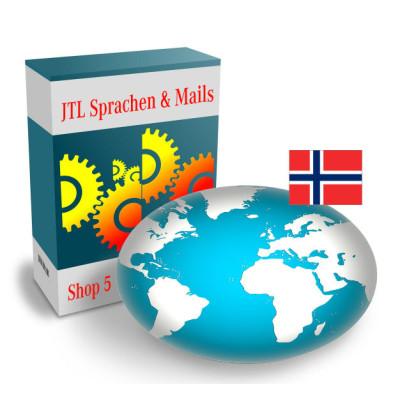 """Sprache """"Norwegisch"""" für JTL-Shop 5.x"""