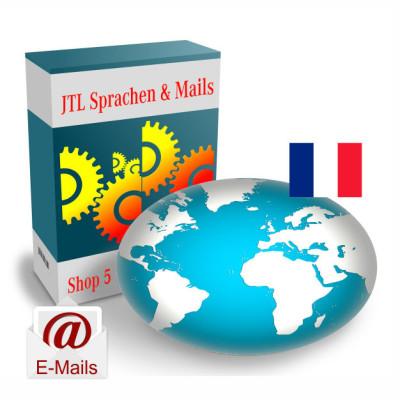 """Maildateien """"Französisch"""" für JTL-Shop 5.x"""