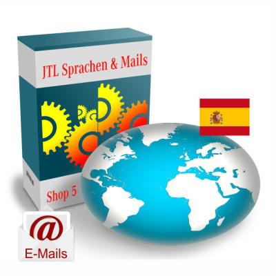 """Maildateien """"Spanisch"""" für JTL-Shop 5.x"""