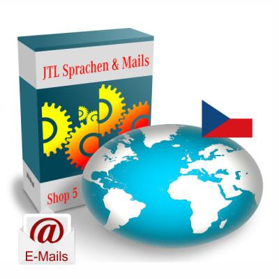 """Maildateien """"Tschechisch"""" für JTL-Shop 5.x"""