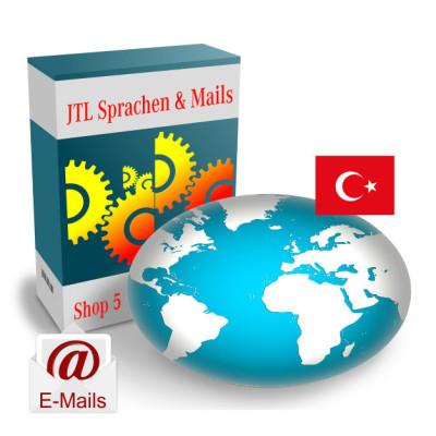 """Maildateien """"Türkisch"""" für JTL-Shop 5.x"""